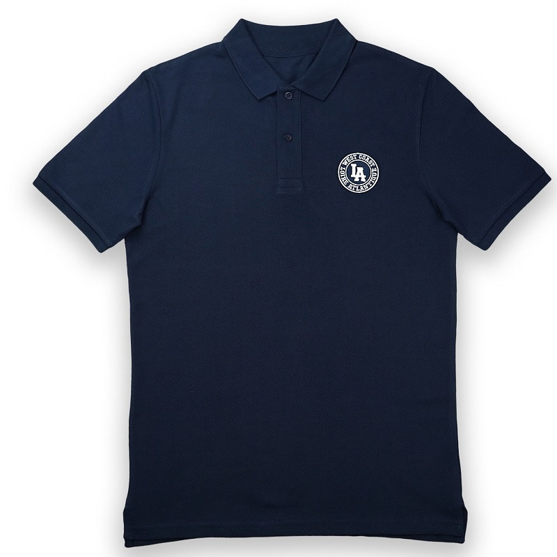Polo Homme Brodé Navy West...