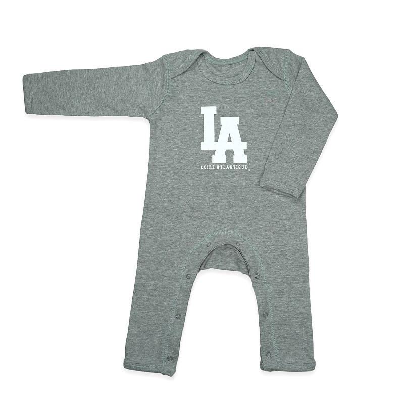 Pyjama Baby Gris  L.A Blanc