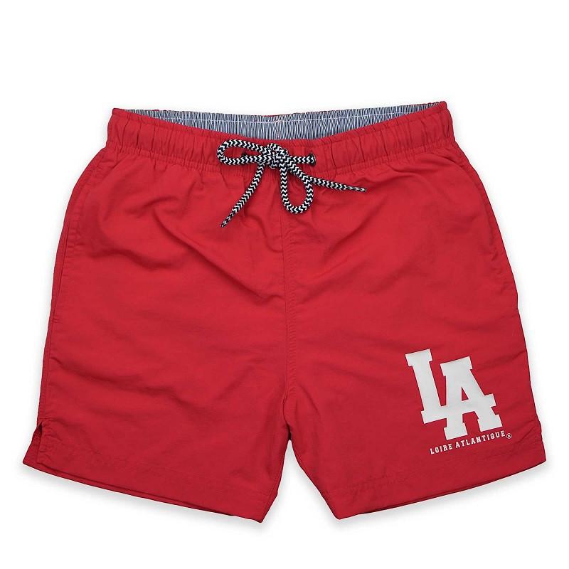 Short de Bain Homme Red L.A