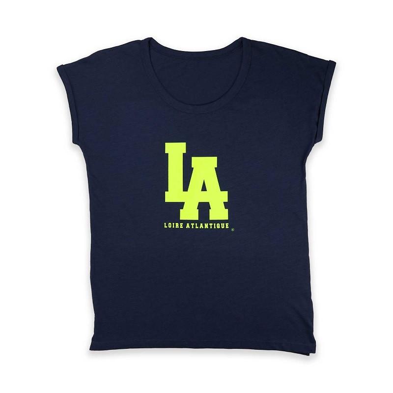 T-Shirt Femme Navy L.A...