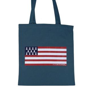 """Tote Bag Classic  """"Flag"""", L.A Loire Atlantique, La Baule, Nantes, Gwenn ha Du, 44, West Coast."""