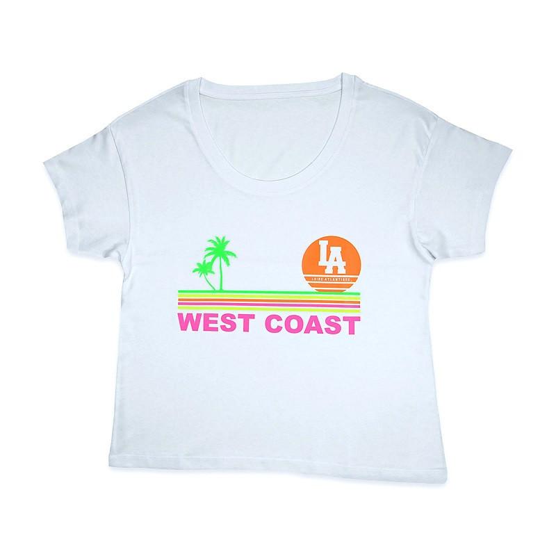 T-Shirt Femme West Coast...