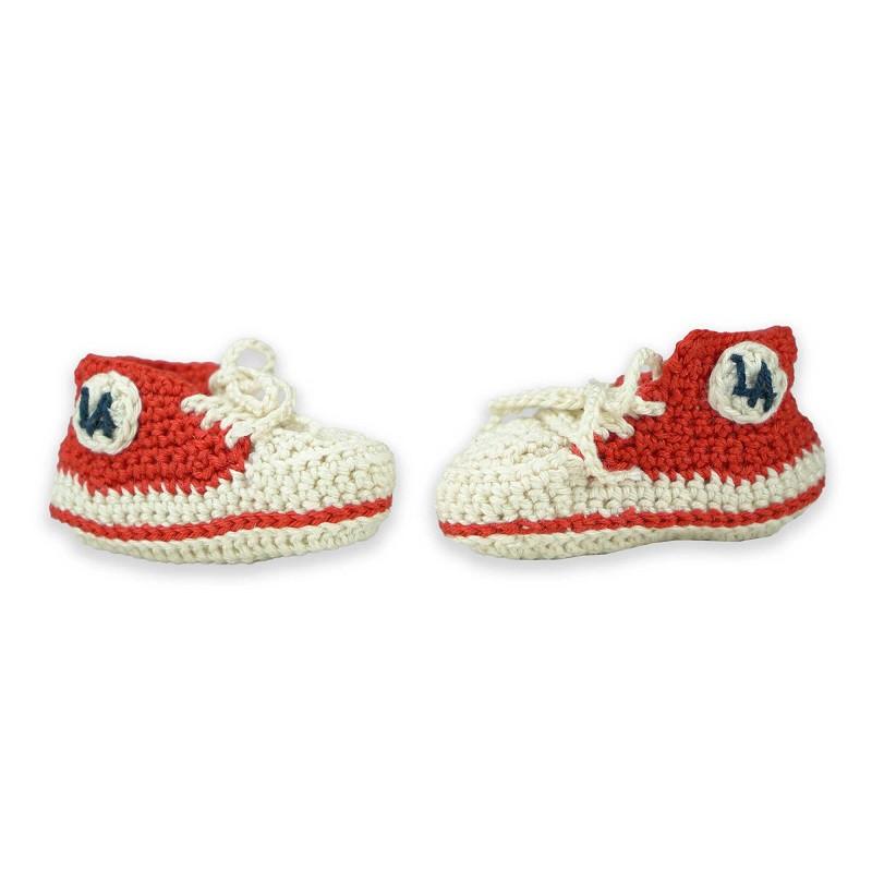 Baby Basket Crochetée L.A Red