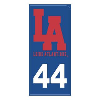 Sticker Royal L.A 44, autocollant, L.A Loire Atlantique, Nantes, West Coast, La Baule.