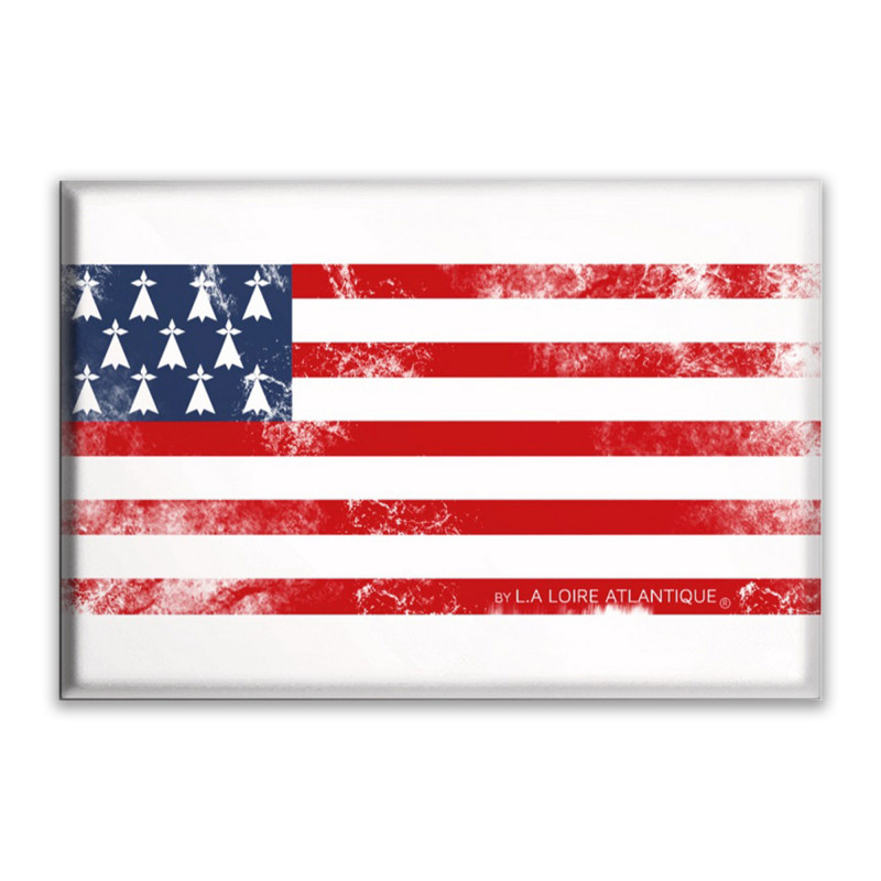 Magnet Vintage Flag