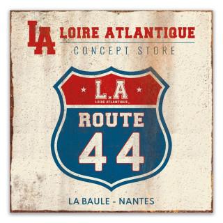 PlaqueDéco-vintage-Route 44-LALoireAtlantique-labaule-Nantes