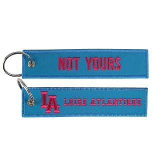 """Porte-Clés """"Not Yours"""", L.A Loire Atlantique, valise, 44, aéroport, Nantes, porte clefs, La Baule."""