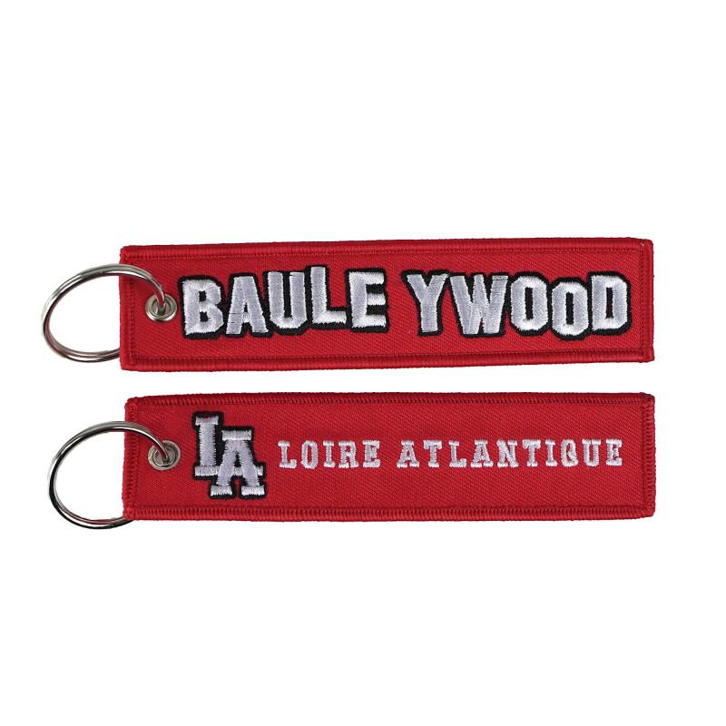 """Porte-Clés """"BauleYWood"""", souvenirs, L.A Loire Atlantique, Hollywood, Porte Clefs, La Baule, West Coast,44."""