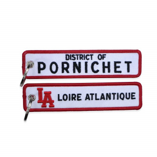 """Porte-Clés """"District of Pornichet"""", L.A Loire Atlantique, 44, West Coast, Porte clefs, souvenirs."""