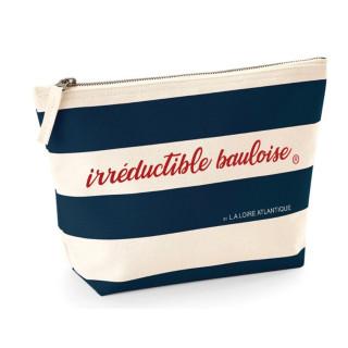 Pochette Irréductible Bauloise, La Baule, L.A Loire Atlantique, Mode, Trousse accessoires, plage, 44, West Coast.