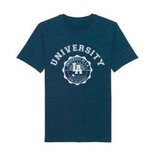 T-Shirt Dark Heather Denim University, L.A Loire Atlantique, concept, 44, Nantes, La Baule, West Coast, étudiant.