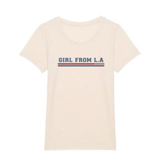 T-Shirt Femme Girl From L.A, L.A Loire Atlantique, La Baule, Nantes, West Coast, 44, concept,