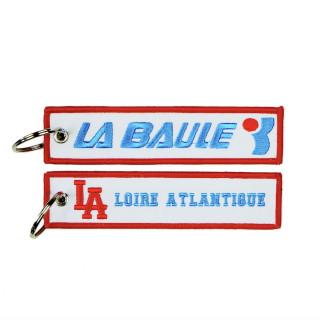 """Porte-Clés """"L.A Baule Vintage"""", années 80, souvenirs, La Baule, design, L.A Loire Atlantique, 44, West Coast, cadeaux."""