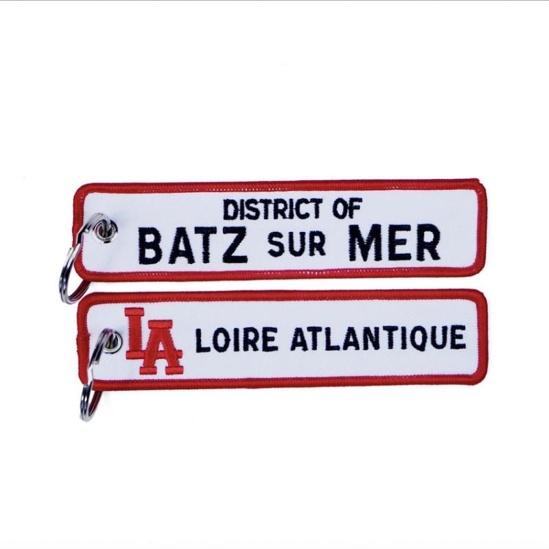 """Porte-Clés """"District of Batz sur Mer"""", Porte Clefs, L.A Loire Atlantique, Mer, West Coast, 44."""