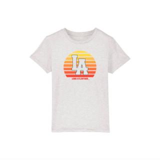T-Shirt Kids Cream Sunset in L.A, L.A Loire Atlantique, Enfants, West Coast, La Baule, 44, Nantes