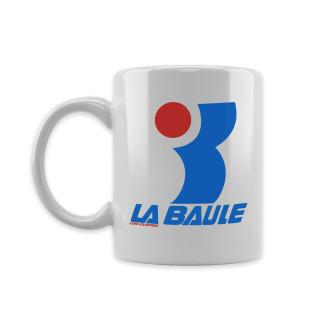 Mug White L.A BAULE, vintage, LA Baule, L.A Loire Atlantique, 44, West Coast, années 80, souvenirs, design, cadeaux.