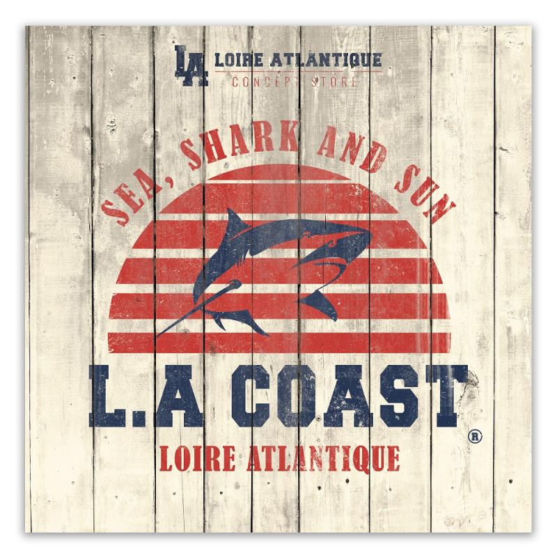 Plaque-Déco-Sea-Shark & Sun-La Baule-44-souvenirs-deco-interieur-LA Loire Atlantique