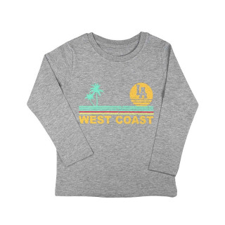 T-Shirt ML Kids Gris West...