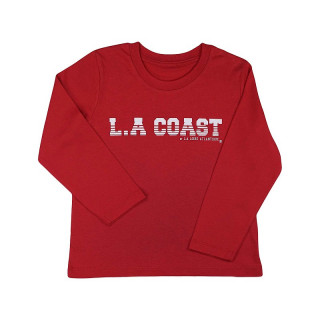 T-Shirt ML Kids Red L.A...