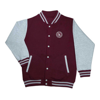 Teddy College Burgundy/Grey