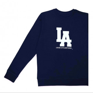 Sweat Classic Navy L.A Blanc