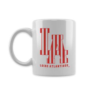 Mug White L.A Red Stripes